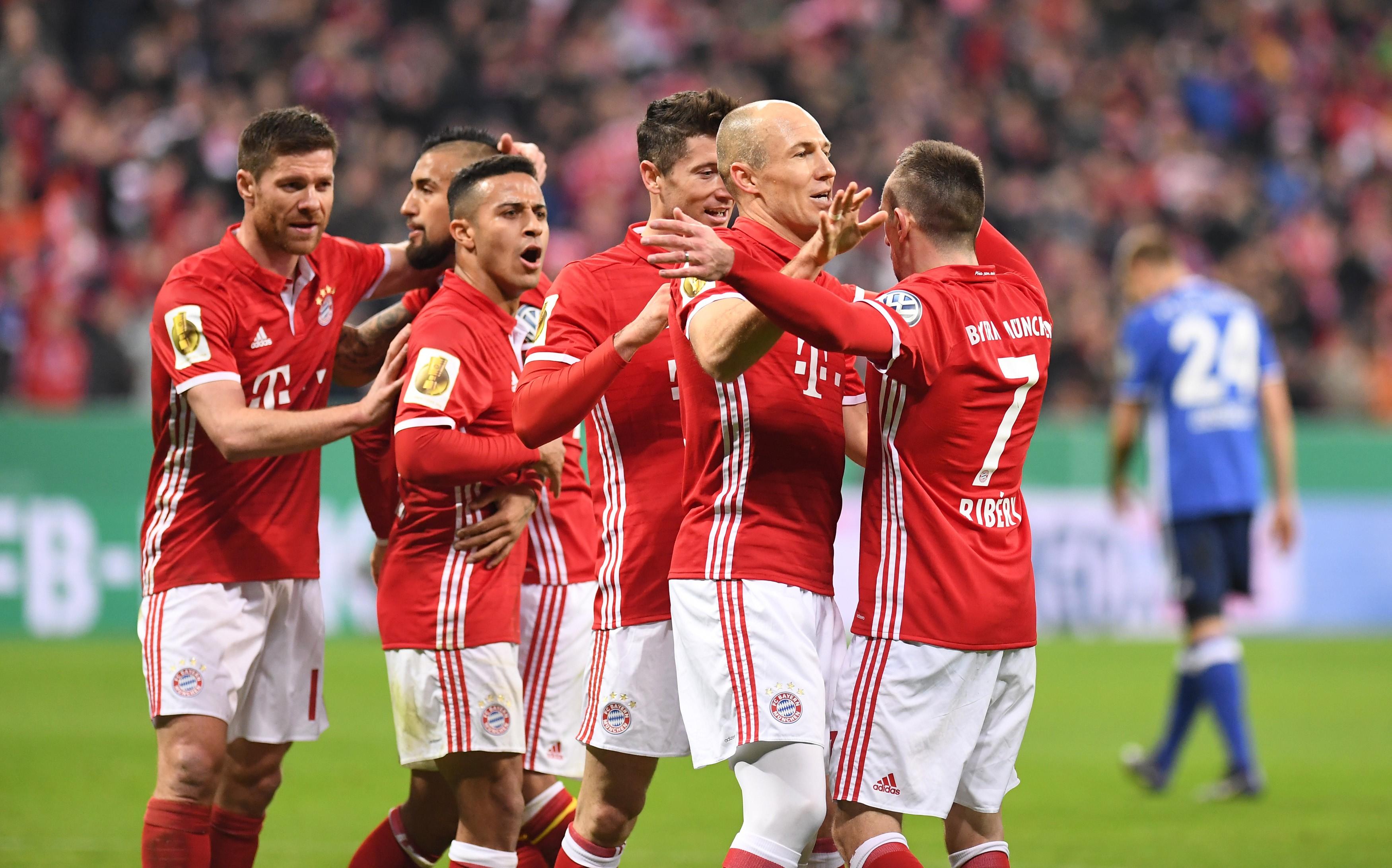 Image result for Bayern Munchen 2017