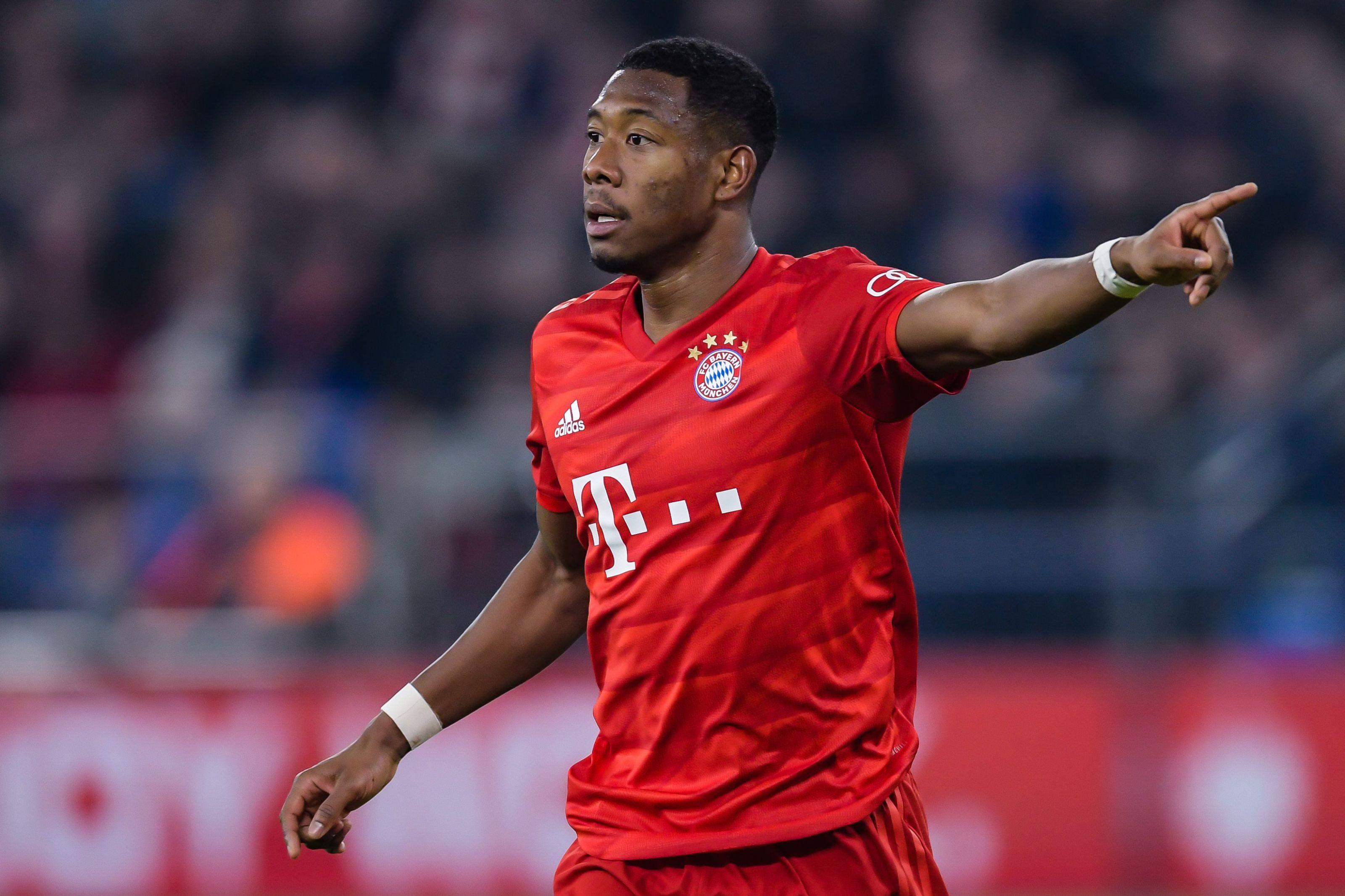 David Alaba should continue in central defense for Bayern Munich