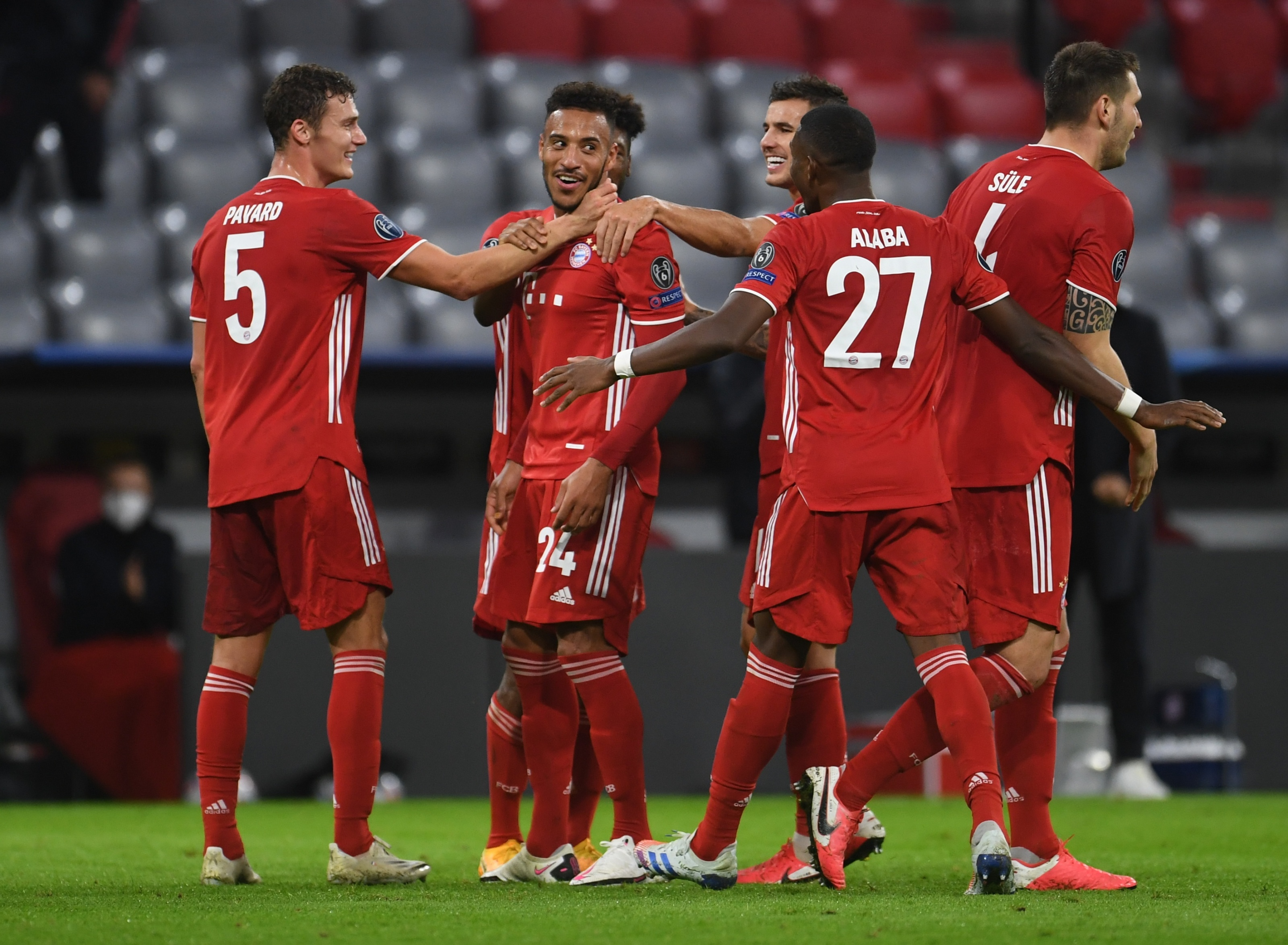 FC Bayern Munich cruise to a comfortable win against Atletico Madrid
