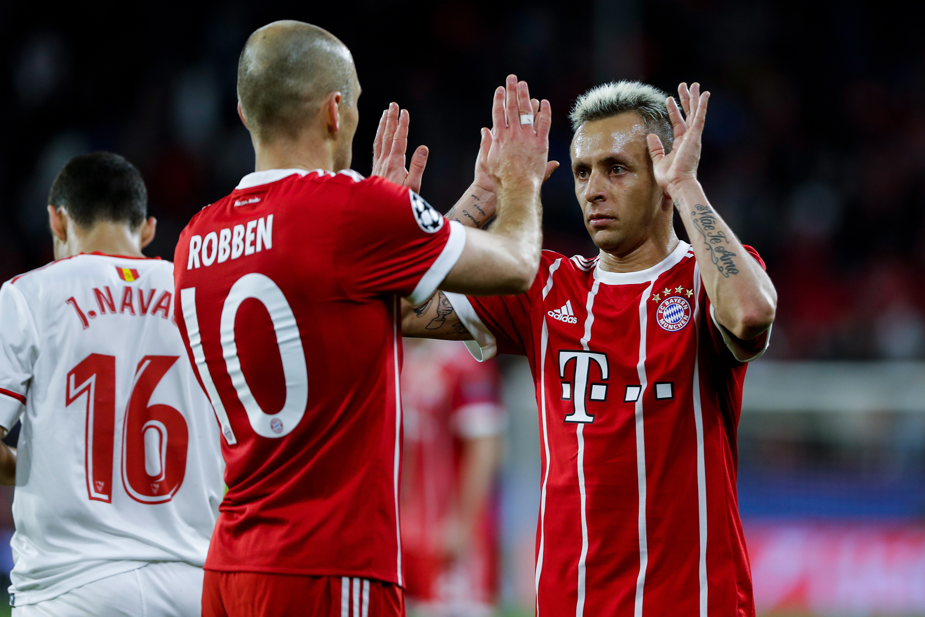 Arjen Robben and Rafinha reflect on their time at Bayern Munich